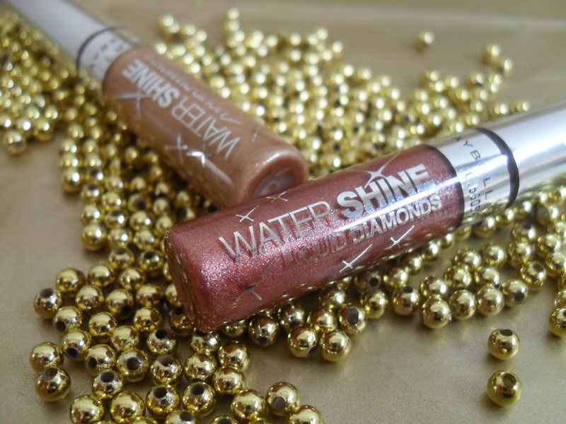 watershine1 Testei: Water Shine Liquid Diamonds   Maybelline
