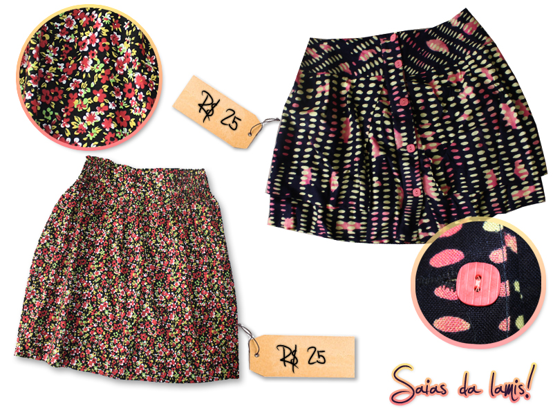 post21 Besni, Chicks Center e Lamis: Saias e T Shirts fofas!