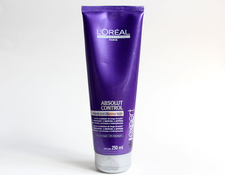 leave in aboslut control loreal claudinha stoco 1 Leave In Creme Modelador Absolut Control da LOral Professionel