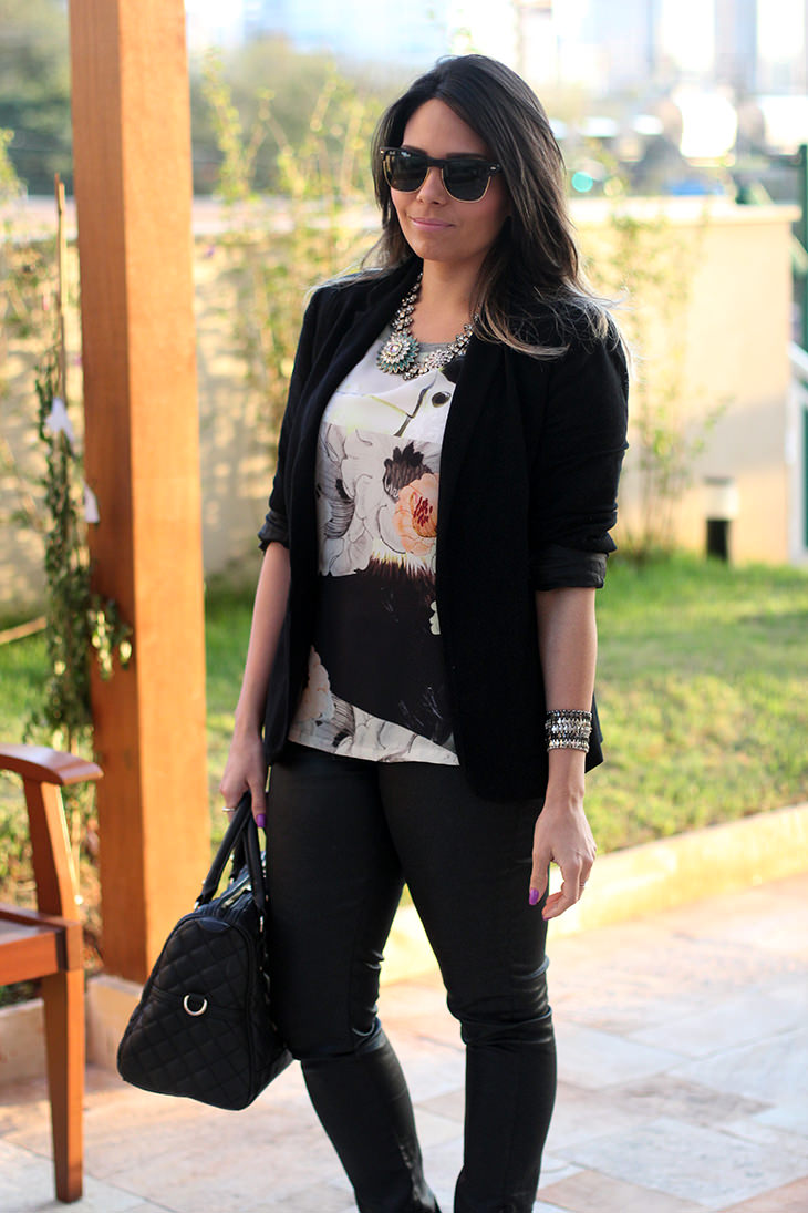 look jeans camiseta claudinha stoco 1 Look: Jeans e Camiseta