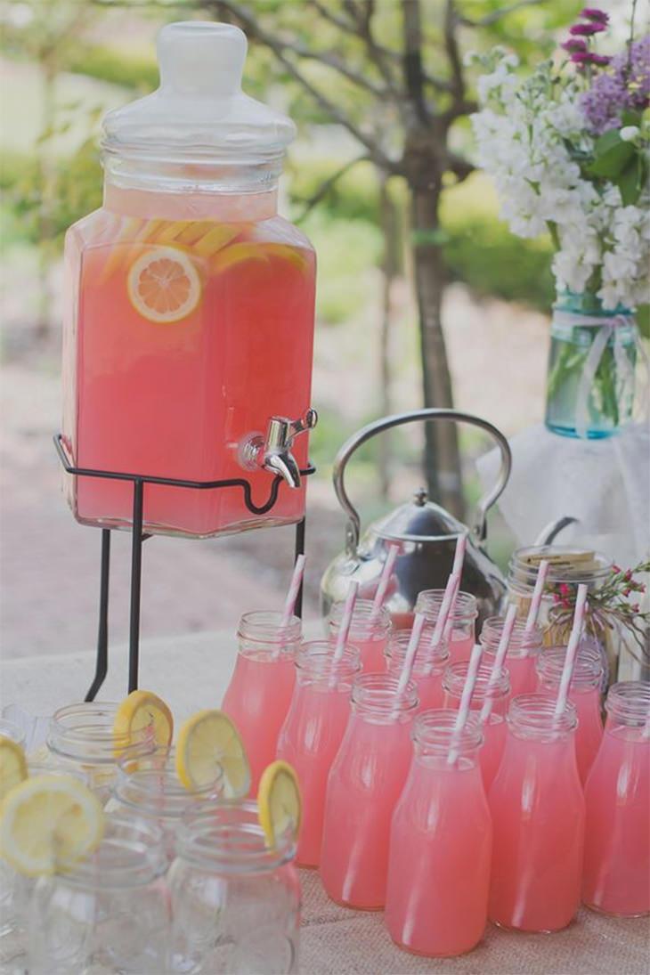 Decor mesa de drinks claudinha stoco blog de beleza for Summer drinks for party